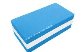 آجر تک رنگ فومی یوگا : آبی سفید