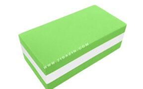 آجر تک رنگ فومی یوگا : سبز سفید