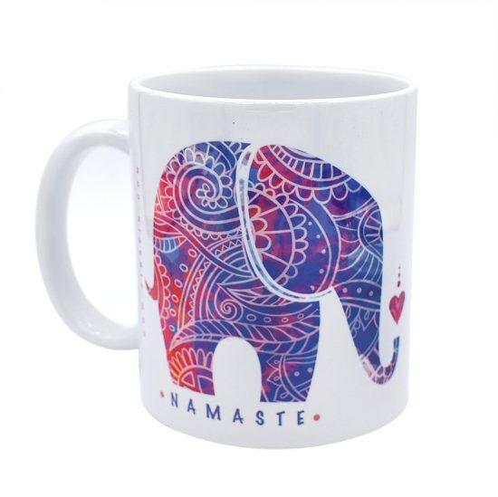 ماگ سرامیکی طرح فیل : کد ۱۸