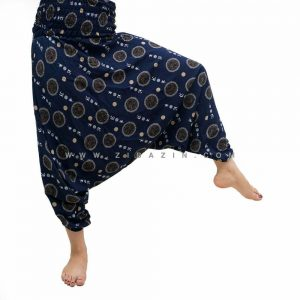 شلوار هیپی فاق بلند طرح ژاپنی